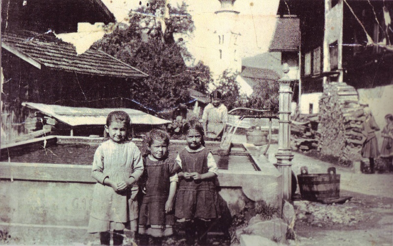 Dorfbrunnen um 1921