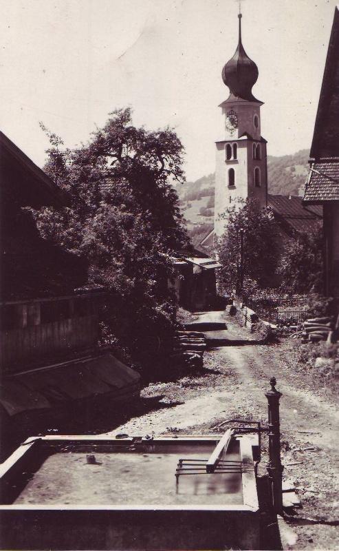 Platz im Jahre 1928