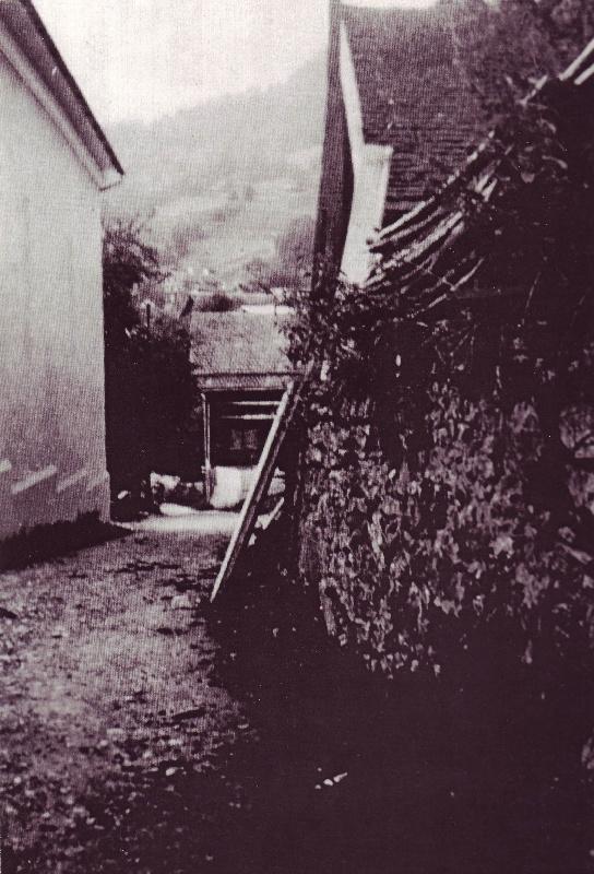 Sennereistrasse um 1900