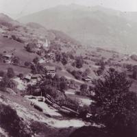 Blick von der Platte um 1922