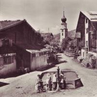 Dorfbrunnen um 1950