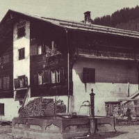 Sprecherhaus um 1950