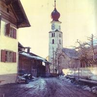 Kirche um 1970